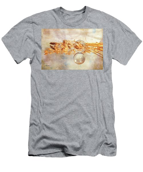 Men's T-Shirt (Athletic Fit) featuring the photograph Yesterday's Seeds by Randi Grace Nilsberg