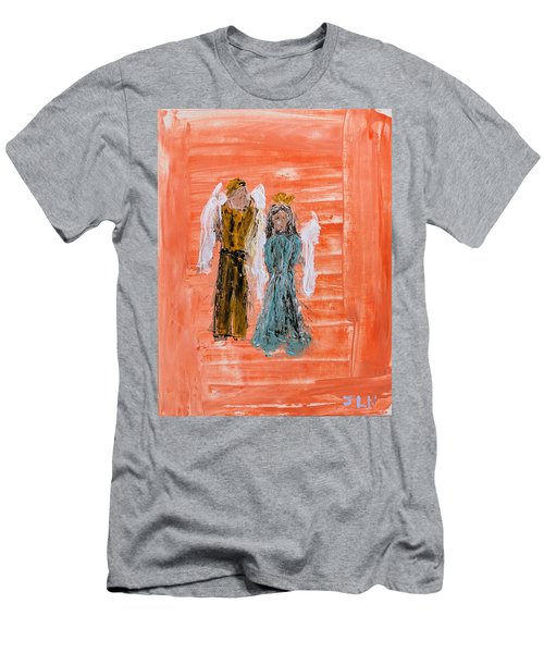 Young Love Angels Men's T-Shirt (Athletic Fit)