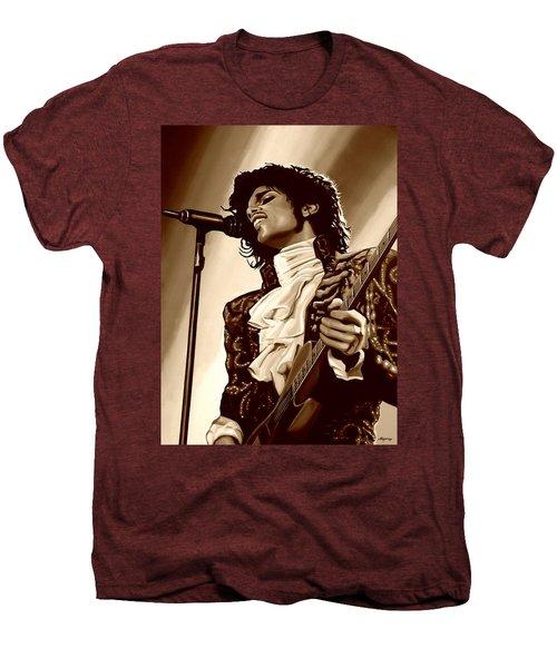 Prince The Artist Men's Premium T-Shirt by Paul Meijering