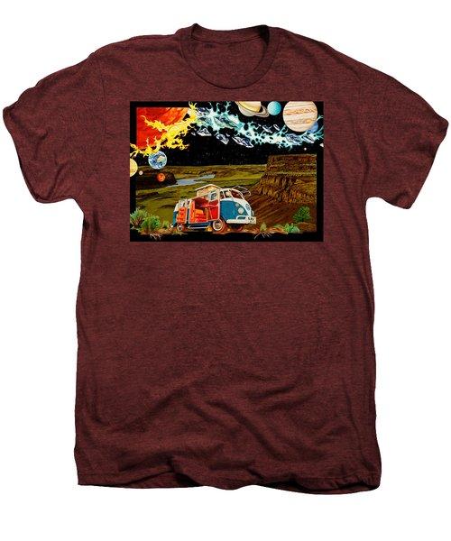 The Gorge One Sweet World Men's Premium T-Shirt by Joshua Morton