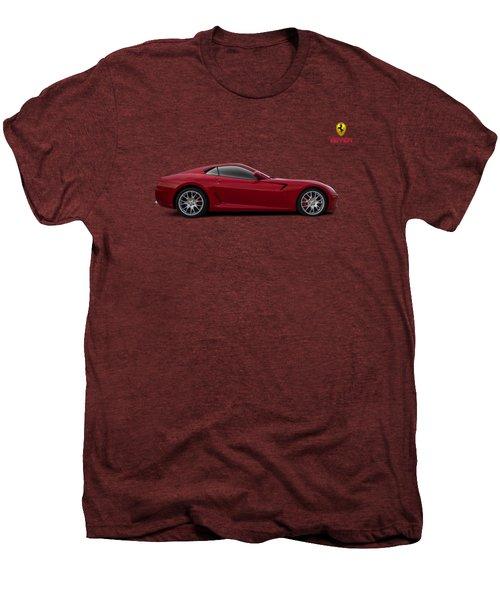 Ferrari 599 Gtb Men's Premium T-Shirt by Douglas Pittman