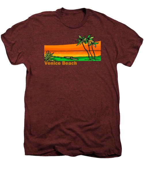 Venice Beach Men's Premium T-Shirt by Brian Edward