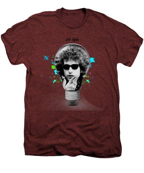 Bob Dylan Collection Men's Premium T-Shirt by Marvin Blaine