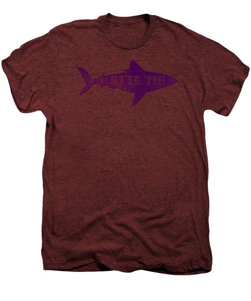 Bite Me Men's Premium T-Shirt by Michelle Calkins