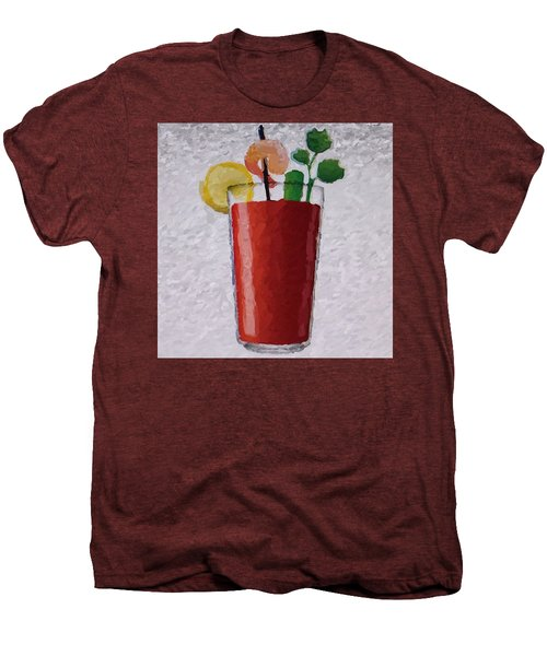 Bloody Mary Emoji Men's Premium T-Shirt by  Judy Bernier