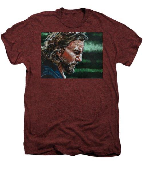 Eddie Vedder Men's Premium T-Shirt by Joel Tesch
