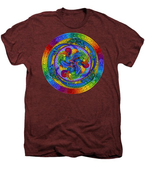 Epiphany Men's Premium T-Shirt by Rebecca Wang