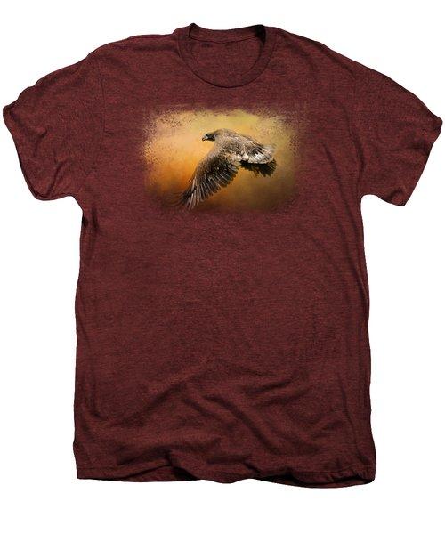 First Flight Men's Premium T-Shirt by Jai Johnson