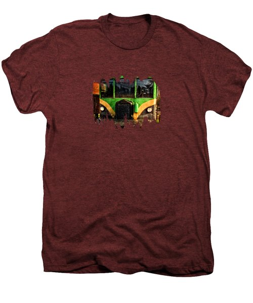 Galloping Goose Men's Premium T-Shirt by Thom Zehrfeld