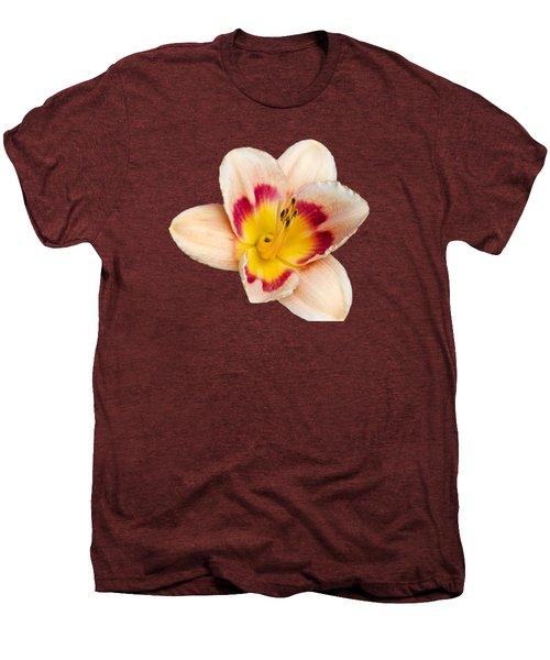 Orange Yellow Lilies Men's Premium T-Shirt by Christina Rollo