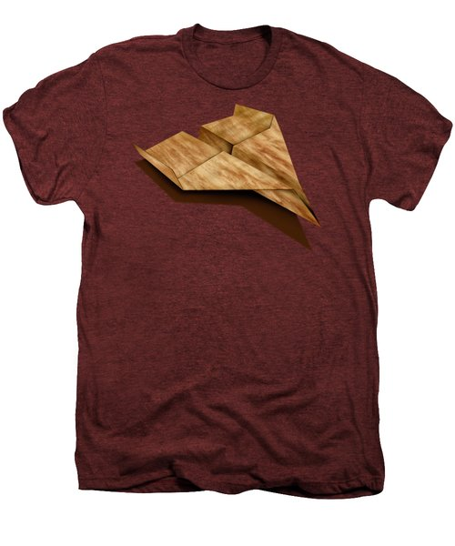 Paper Airplanes Of Wood 5 Men's Premium T-Shirt by YoPedro