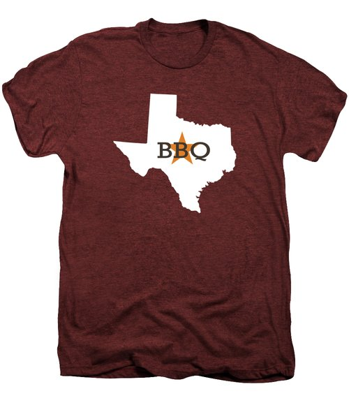 Texas Bbq Men's Premium T-Shirt by Nancy Ingersoll