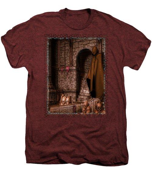 The Dark Men's Premium T-Shirt by Sharon and Renee Lozen