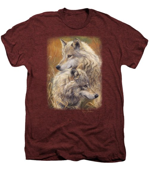 Together Men's Premium T-Shirt by Lucie Bilodeau