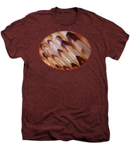 Triton Seashell Abstract Men's Premium T-Shirt by Gill Billington