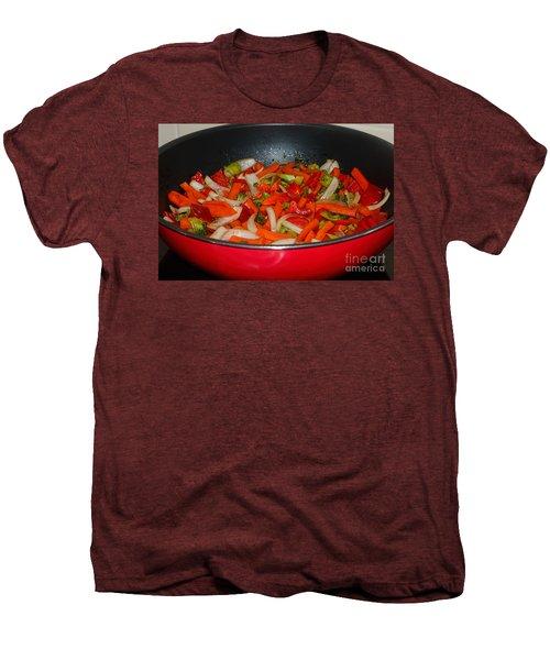 Vegetable Stir Fry By Kaye Menner Men's Premium T-Shirt by Kaye Menner