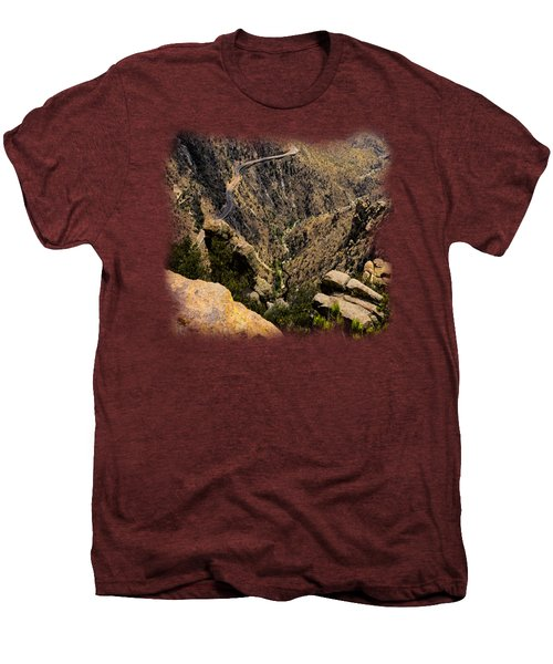 Windy Point No.9 Men's Premium T-Shirt by Mark Myhaver