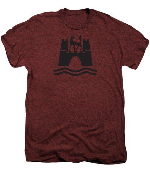 Wolfburg Logo Men's Premium T-Shirt by Ed Jackson