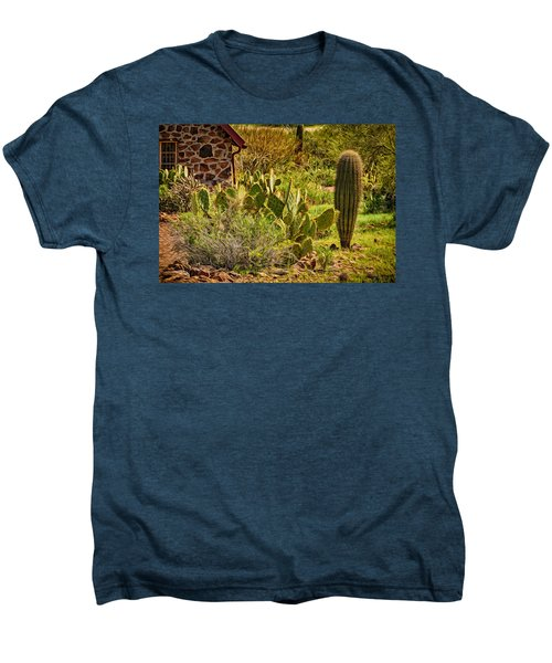 Men's Premium T-Shirt featuring the photograph Desert Dream by Mark Myhaver