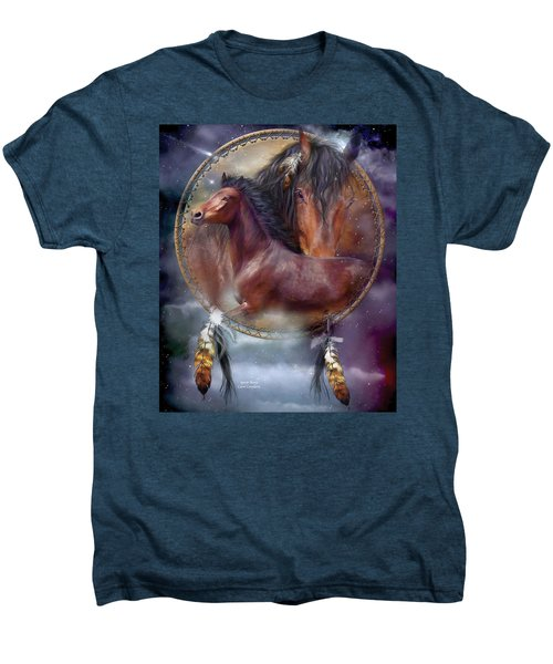 Dream Catcher - Spirit Horse Men's Premium T-Shirt