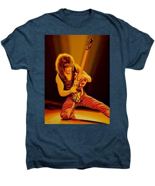Eddie Van Halen Painting Men's Premium T-Shirt
