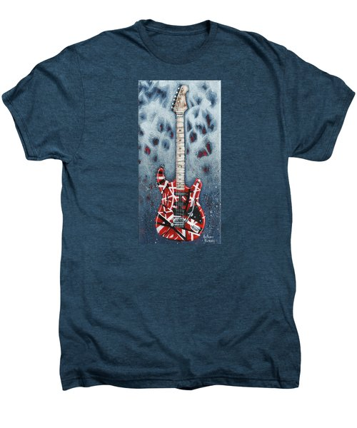 Eddie's Frankenstrat Men's Premium T-Shirt by Arturo Vilmenay