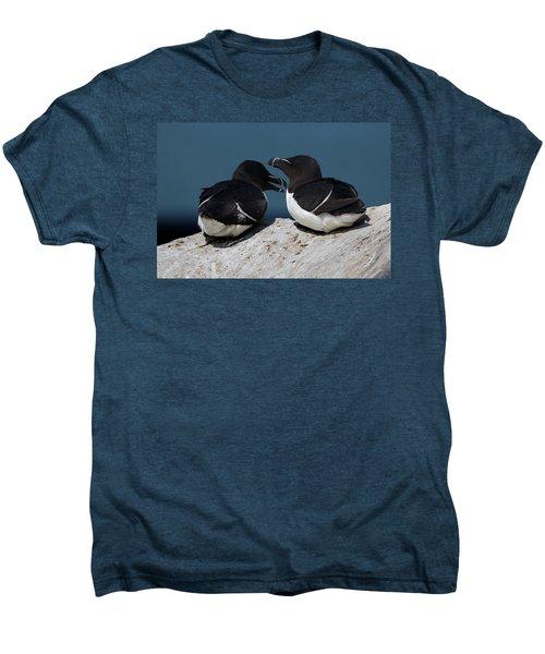 Gossip Mongers Men's Premium T-Shirt by Brent L Ander