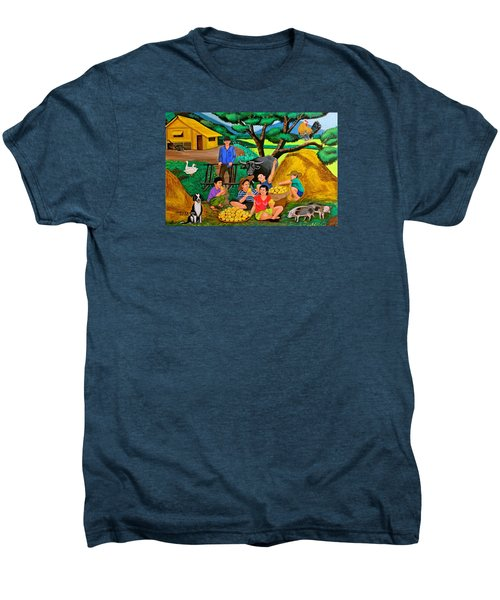 Harvest Time Men's Premium T-Shirt by Cyril Maza