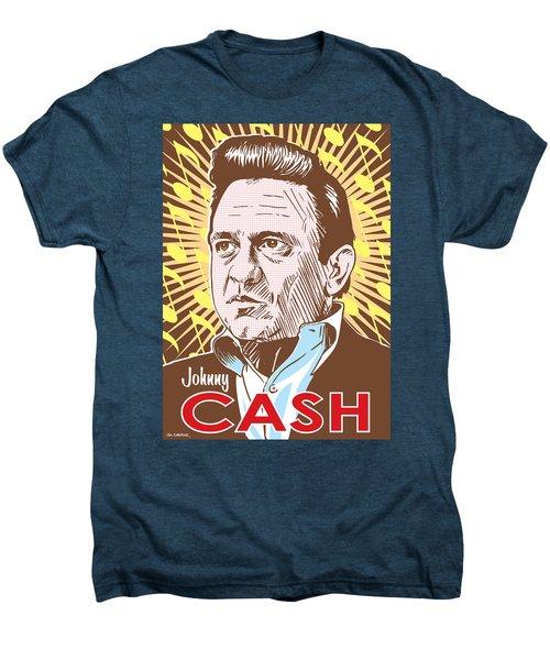 Johnny Cash Pop Art Men's Premium T-Shirt