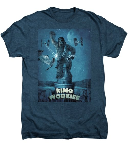 King Wookiee Men's Premium T-Shirt by Eric Fan