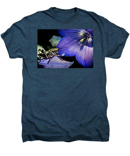 Contemplation Of A Pistil Men's Premium T-Shirt by Karen Wiles