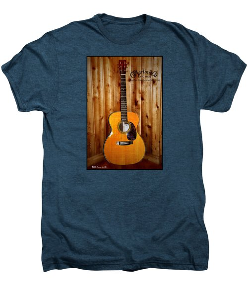Martin Guitar - The Eric Clapton Limited Edition Men's Premium T-Shirt by Bill Cannon