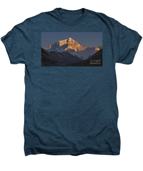 Mount Everest At Dusk Men's Premium T-Shirt