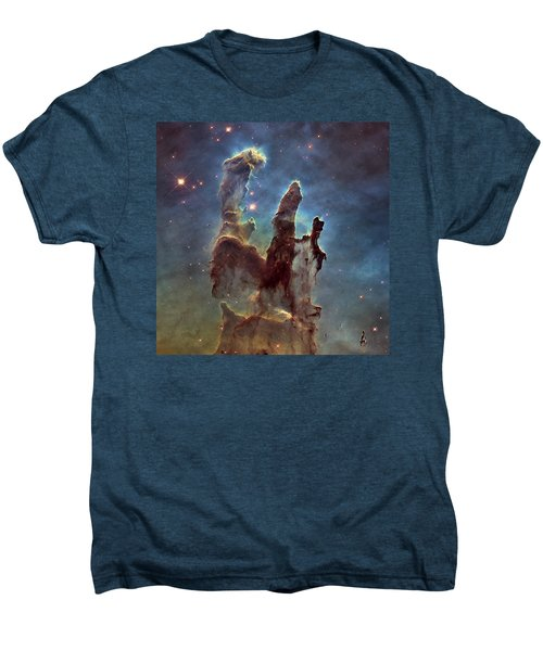 New Pillars Of Creation Hd Square Men's Premium T-Shirt