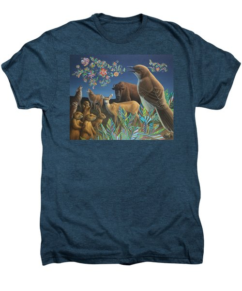 Nocturnal Cantata Men's Premium T-Shirt by James W Johnson