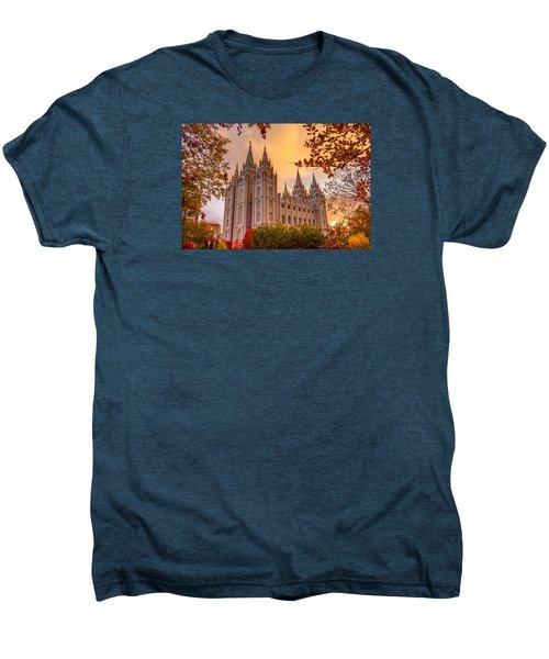 Salt Lake City Temple Men's Premium T-Shirt