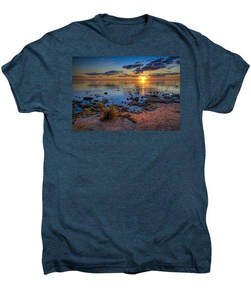 Sunrise Over Lake Michigan Men's Premium T-Shirt by Scott Norris