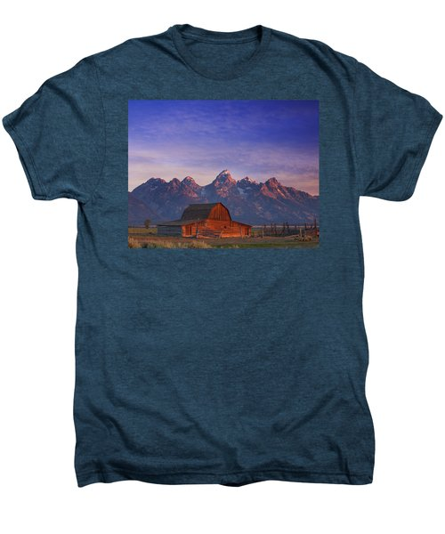 Teton Sunrise Men's Premium T-Shirt