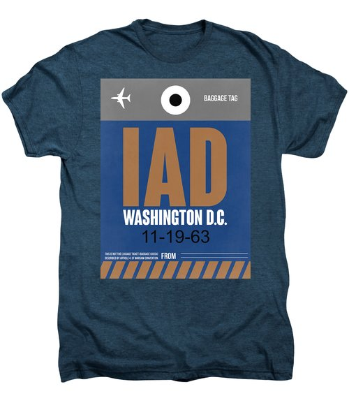 Washington D.c. Airport Poster 4 Men's Premium T-Shirt