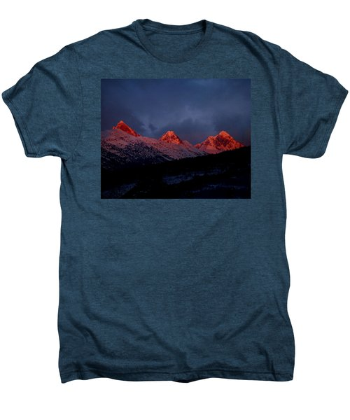 West Side Teton Sunset Men's Premium T-Shirt