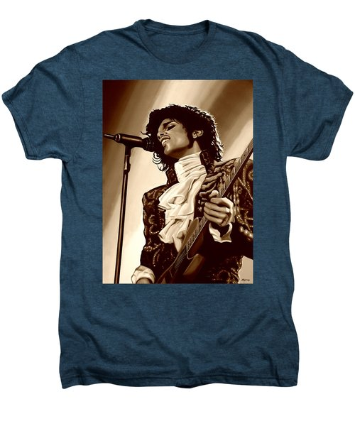 Prince The Artist Men's Premium T-Shirt by Paul Meijering