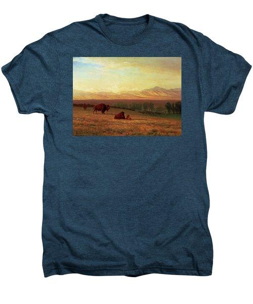 Buffalo On The Plains Men's Premium T-Shirt
