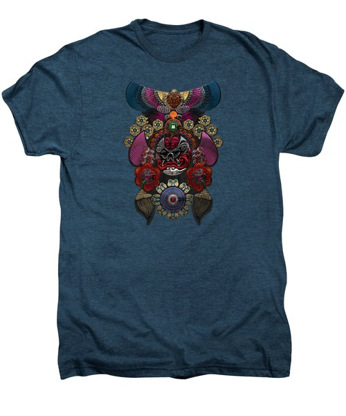 Chinese Masks - Large Masks Series - The Demon Men's Premium T-Shirt
