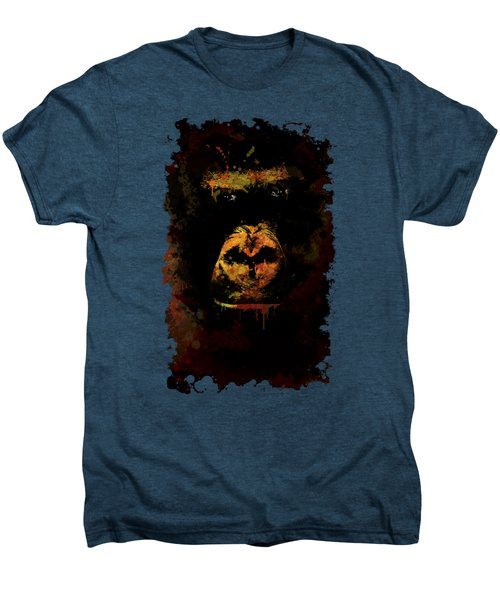 Mighty Gorilla Men's Premium T-Shirt by Jaroslaw Blaminsky