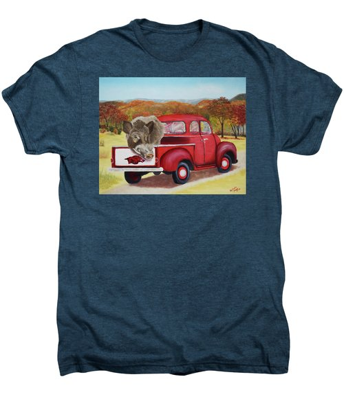 Ridin' With Razorbacks 2 Men's Premium T-Shirt