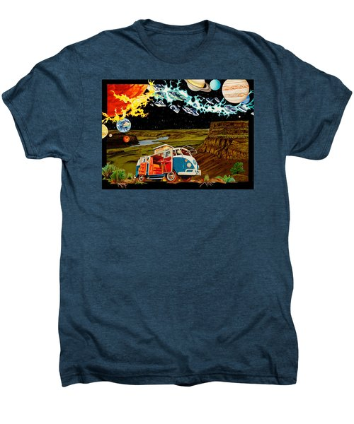 The Gorge One Sweet World Men's Premium T-Shirt