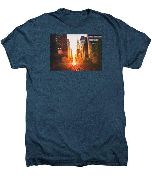 New York City Men's Premium T-Shirt by Vivienne Gucwa