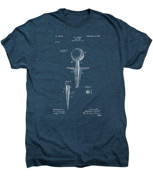 1899 Golf Tee Patent Artwork Red Men's Premium T-Shirt