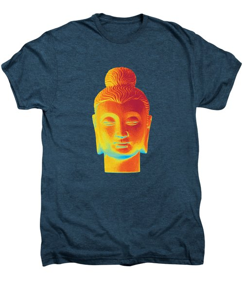 colorful Buddha - Gandhara Men's Premium T-Shirt by Terrell Kaucher