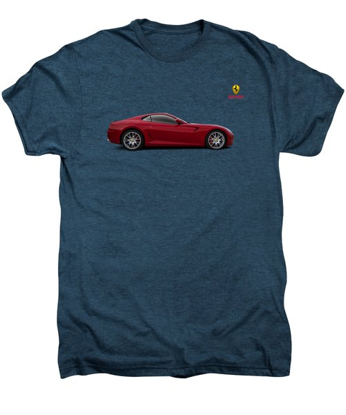 Ferrari 599 Gtb Men's Premium T-Shirt by Douglas Pittman